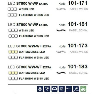 LED ST 800 WW-WF   Kabelfarbe: weiß   Lichterkette --> Led Pro 230V